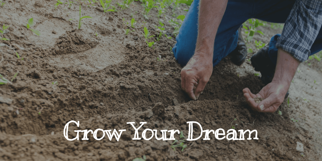 Grow your dream man planing seeds